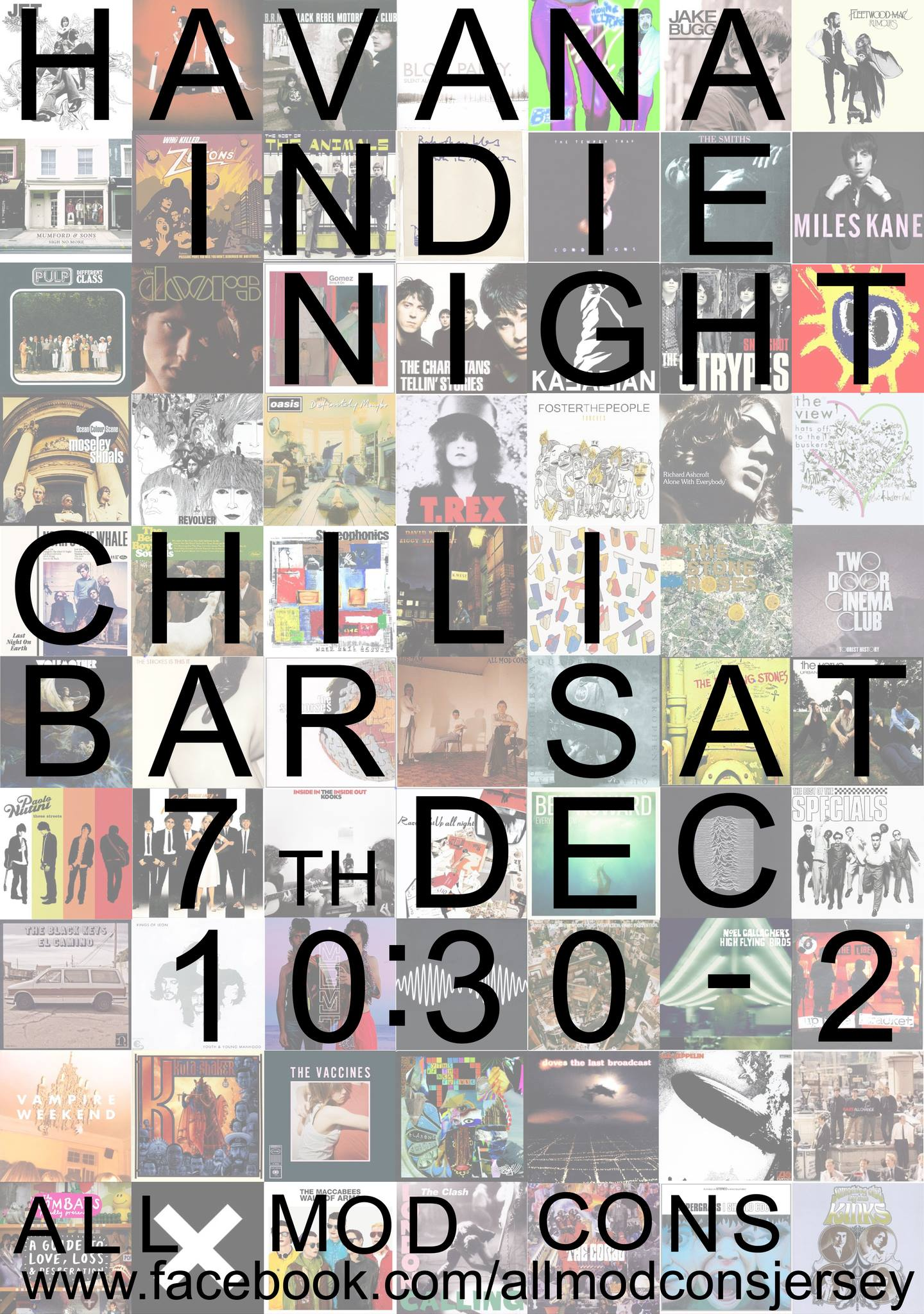 All Mod Cons – A Night of Indie Rock and Roll